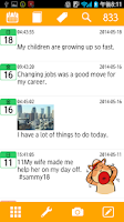 Screenshot of Moment Diary
