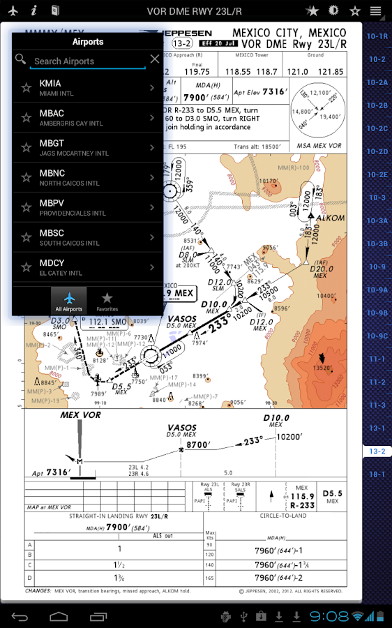 Jeppesen Mobile TC- screenshot
