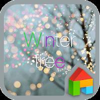 Winter Trees dodol theme 4.1