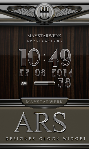 Digital Clock Widget Ars