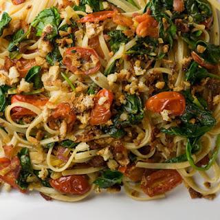 Bacon, Lettuce and Tomato Pasta