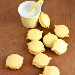 When Life Gives You Lemons...It's Time for a Mac Attack! (Lemon Macarons with White Chocolate Ganache)