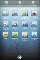 Screenshot of ICY GO Launcher Theme