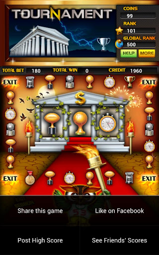 Tournament Slot Machines Screen Capture 2