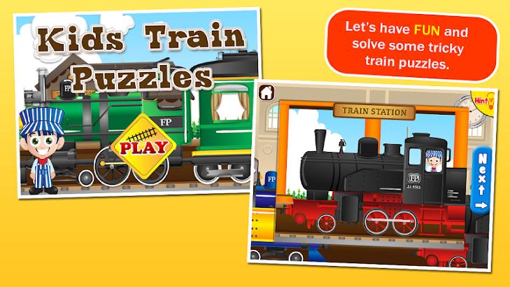 Train Puzzles for Kids- screenshot thumbnail