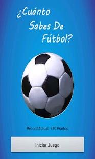 ¿Sabes de Fútbol?- screenshot thumbnail