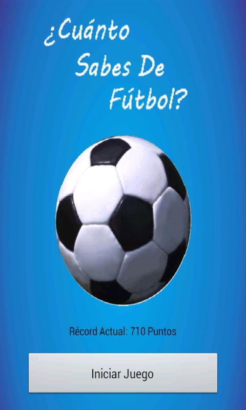 ¿Sabes de Fútbol?- screenshot