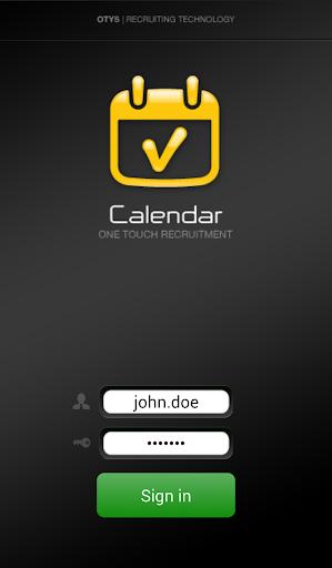 OTYS Calendar app