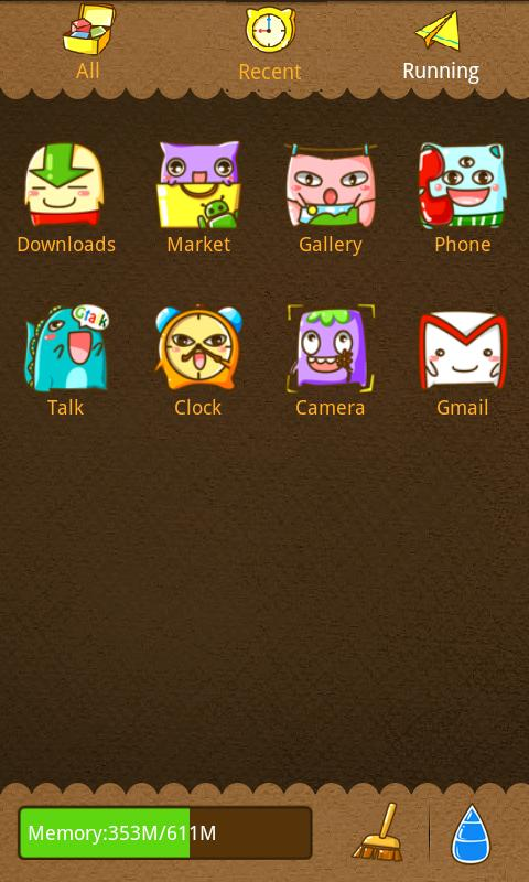 Monster Theme GO Launcher EX - screenshot