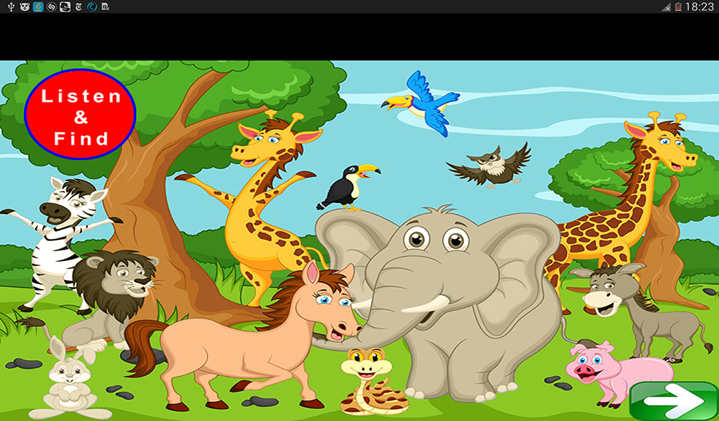 Animal Sounds Quiz- screenshot
