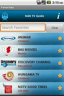 TV Guide India (N4N) - screenshot thumbnail