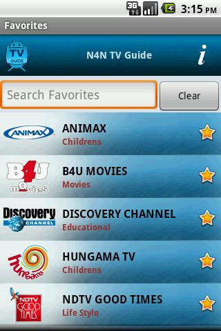 TV Guide India (N4N)- screenshot