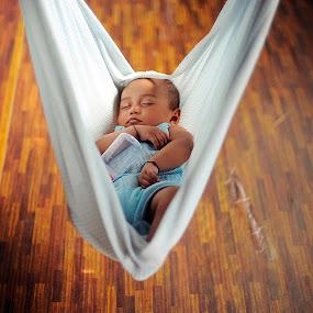 sleeping hero by Asrul CikguOwn - Babies & Children Children Candids