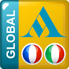 French - Italian Translator Dictionary Global icon
