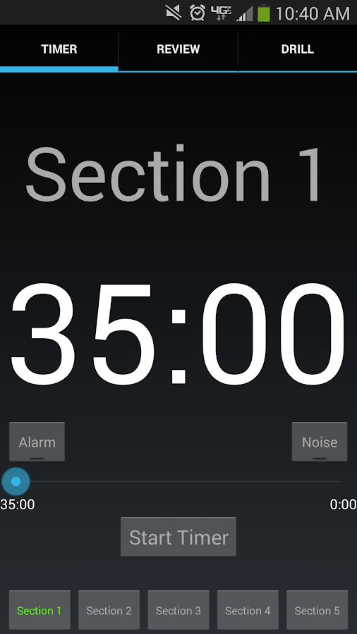 LSAT Timer- screenshot