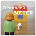 Distance2Meter camera measure logo