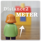 Distance2Meter camera measure icon