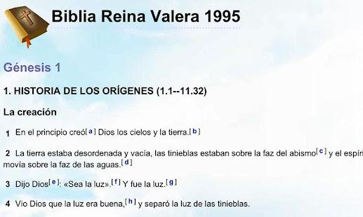 Biblia en Español Multi Opción - screenshot thumbnail