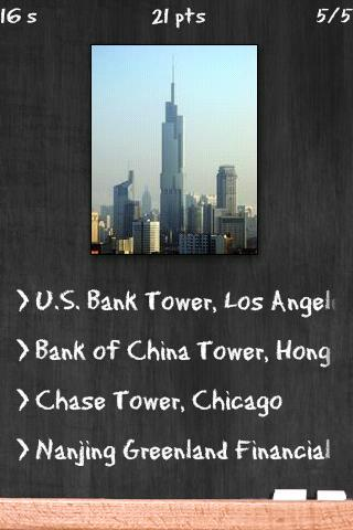 Tallest Buildings Quiz - screenshot