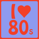 Music of the 80s logo