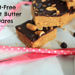 Guilt-Free Peanut Butter Squares