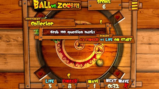 Ball vs. Zombies - screenshot thumbnail