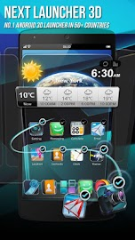 Next Launcher 3D Shell Screenshot 2