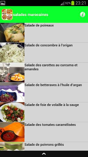 salades marocaines 2015