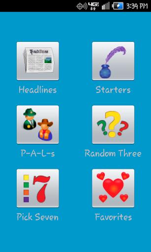 Fresh Start Writing Prompts