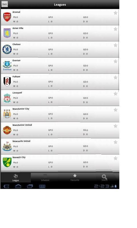 Football Live TV - screenshot