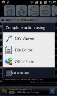 CSV Viewer- screenshot thumbnail