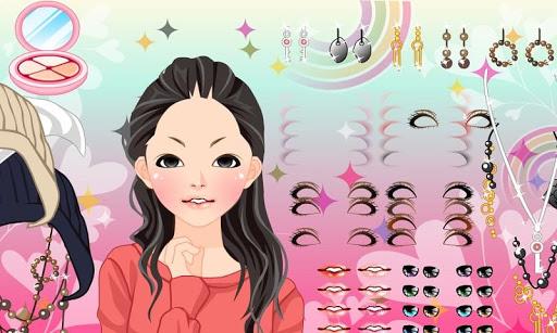 Makeup Maker Girl