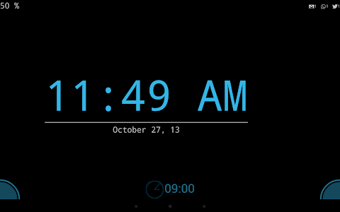 Night clock (Daydream clock) screenshot 3