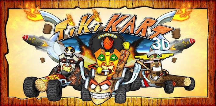 Скачать Tiki Kart 3D — безумные гонки на мультяшных машинках!