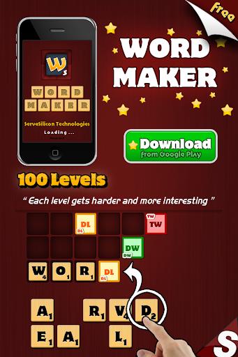 Word Maker Game