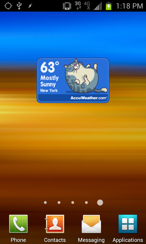 Weather Forecats - screenshot