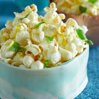 Basil Garlic Popcorn.