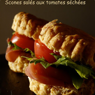 Savory Sundried Tomato-Cheddar Scones