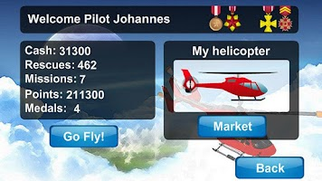 Screenshot of Helicopter Air Rescue LITE