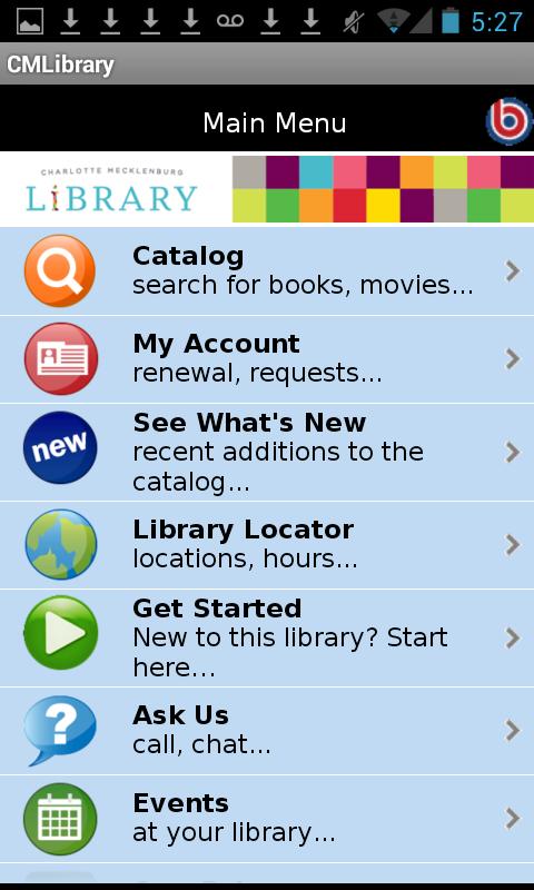 Charlotte Mecklenburg Library - screenshot
