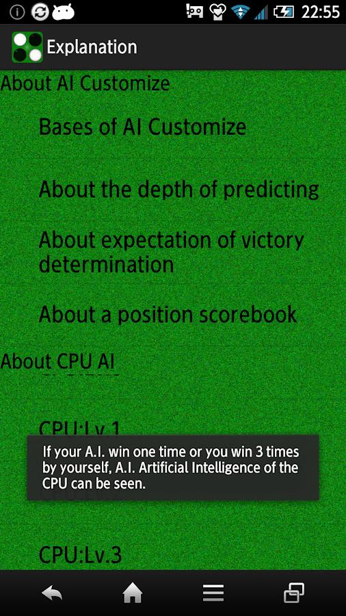 Reversi ai strategy