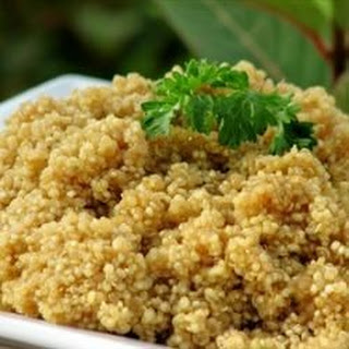 Quinoa with Asian Flavors