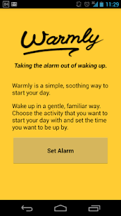 Warmly — An alarm clock - screenshot thumbnail