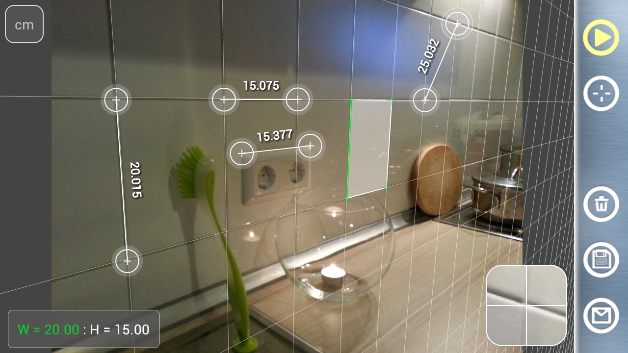 Partometer3D - photo measure - screenshot