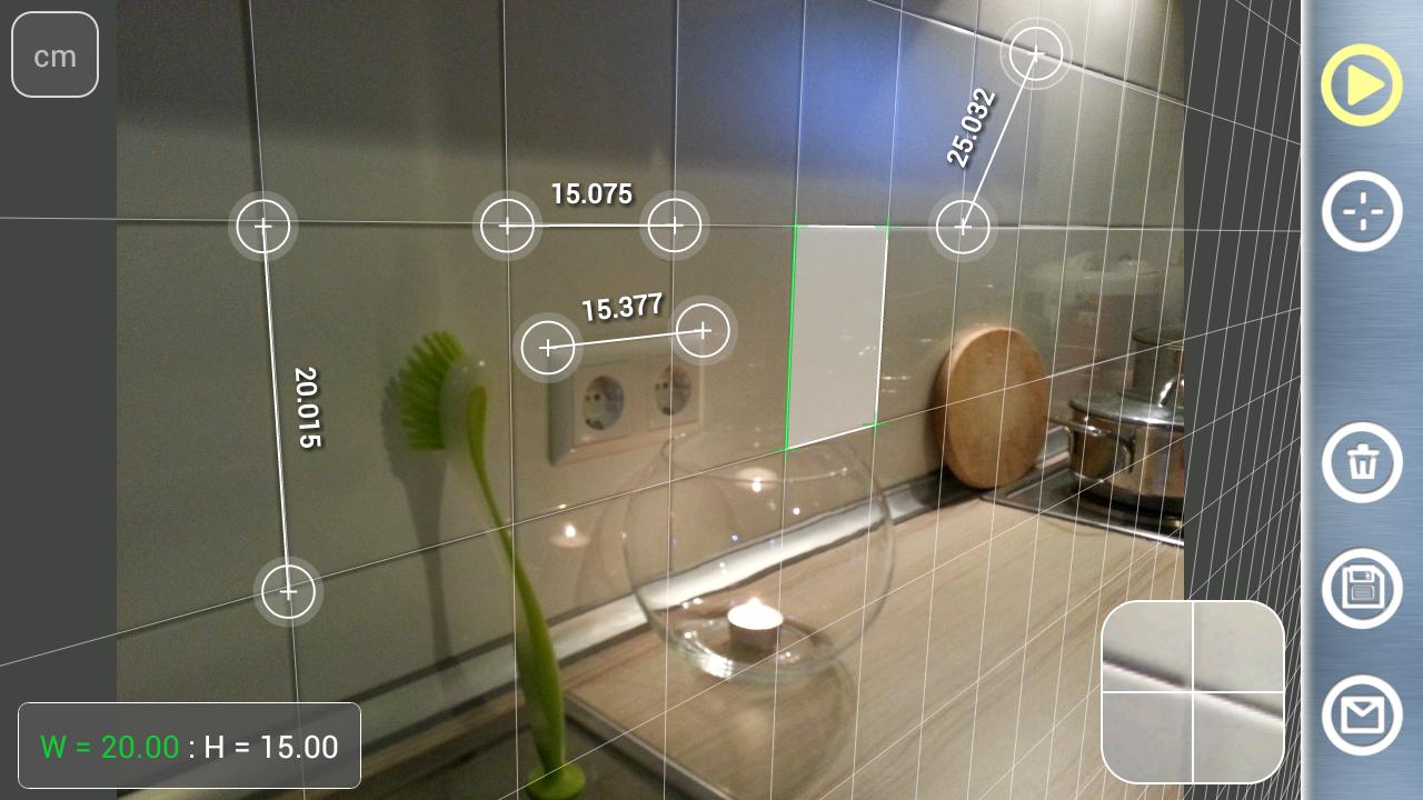 Partometer3D - camera measure