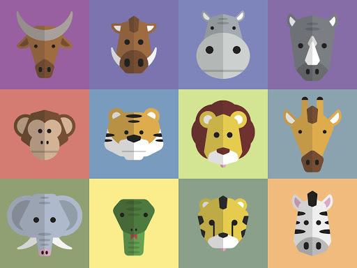 無料教育Appの野生動物|記事Game