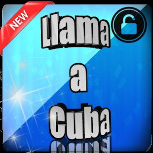 Llama a Cuba