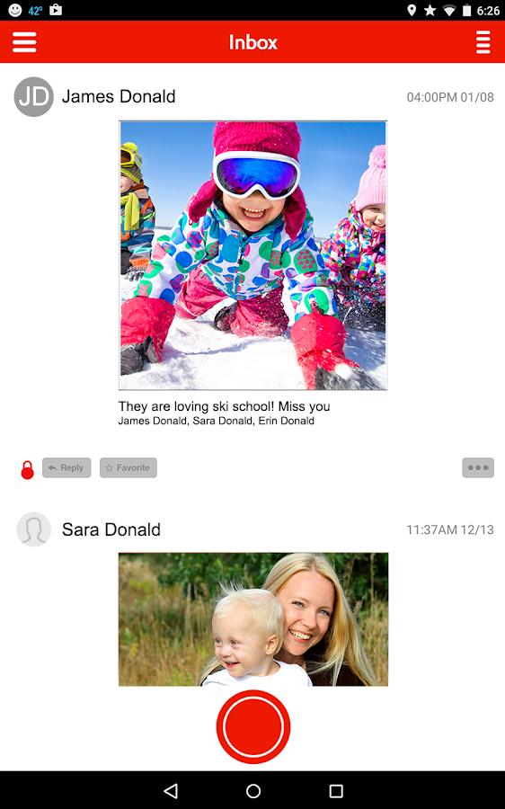 Priveo: Group Video Messaging - screenshot