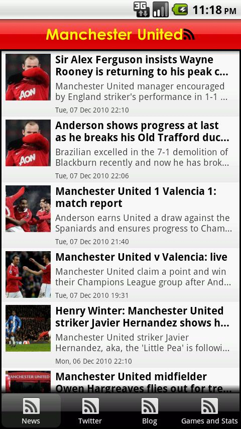 Manchester United: FanZone - screenshot