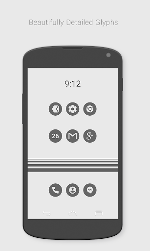 Flatcons Black Icon Pack